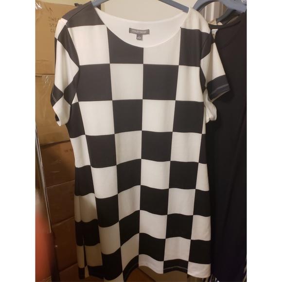 bb0ab716a883 Tinley Road Dresses   Checkered Mini Dress   Poshmark